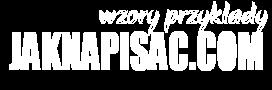 Przyklady.JakNapisac.com